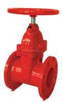FM UL fire protection 200PSI NRS Flanged gate valve with wheel