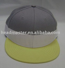 Low limit of quantity Individuation Cotton flat fitted hat