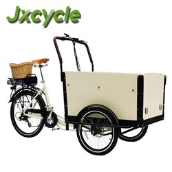 electric three wheel bicycle cargo