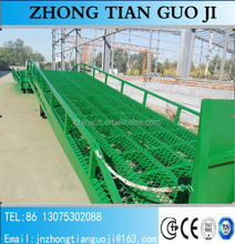 0.9-1.7m Adjustable mobile hydraulic loading ramp for warehouse container