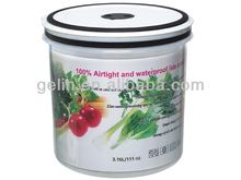 Round airtight and waterproof micro container