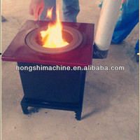 High-energy High-energy smokeless cast iron wood burning stove with oven