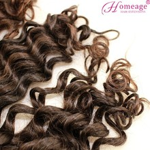 Homeage wholesale original indian hair wavy tangle free indian hair natural sex 6a remy