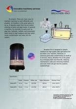Air Breather for Gear box, Hydraulic system, Turbine, Compressor in industrial.