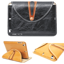 Fashional design high quality leather smart case for ipad mini 2/3