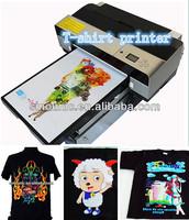 dark and light T shirt printing machine /Digital t shirt printing machine