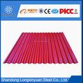 cor ondulada metal chapa de aço para telhados painel