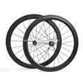 nuevo diseño de carbono cyclocross cyclocross de carbono tubular de la rueda para 50mm 11s campagnolo