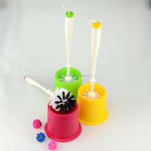 Toilet Bowl Brush with Holder Set