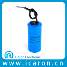 500uf 250v electrolytic motor start capacitor with CE/CQC/CCC for pump,fan,washing machine,air compressor