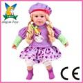 2014 novo design cantando boneca com braços e pernas