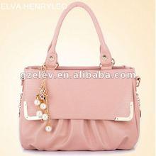 HOT Sell!!!2012 fashion factory partysu women handbag ,high PU and cotton linning lady bag