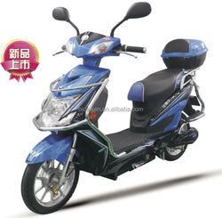 350W battery motorcycle with pedals