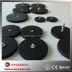 Dia 88mm Multi-poles Rubber Covered POT Magnet