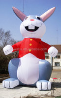 outdoor event inflatable rabbit for stage