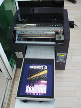 Multicolor A3 size digital flatbed t-shirt printing machine prices for sale