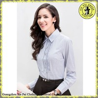 Western Style Formal Office Series Tucked-in Blouse