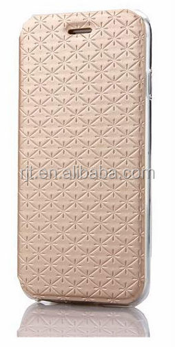 Wholesale new style wallet leather case for iPhone 6 case with card slot