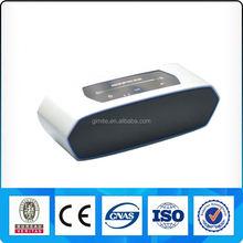 Aluminum housing mini metal bluetooth speaker 2(2.0)channel 16W wireless 4.0 speaker DSP technology slide volume control