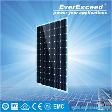 EverExceed 230w 156*156 Monocrystalline Solar Panel warranted for 5 years