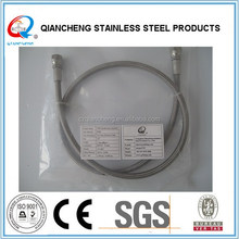 jic 74 smooth bore stainless steel braiding flexible ptfe hose