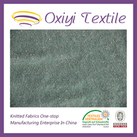 100 cotton french terry knitted fabric