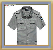 CUSTOM SHORT SLEEVE SECURITY PERSONNEL WORK SHIRT