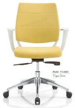 Triumph modern office chair with folding back / yellow plastic arm office chair / life chair mechanism