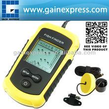 FF-1108-1 Localizador de la suerte de alarma detecta 100m las malas hierbas, la hierba, rock sonar buscador de los pescados