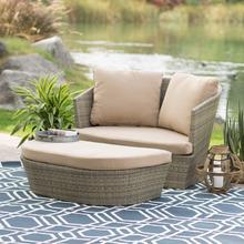 2015 qualità garantita popolare giardino lettino pe salotto in vimini divano letto
