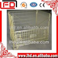 top performance wire mesh pallet cage for fruit storage