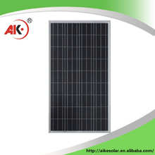 New china products wholesale 120W solar panel low iron tempered glass