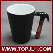 Black to White Mug Color Changing Mug With Hammer Handle