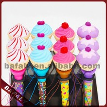 2015 hot sell new style promotion ball point pen,cake decorating pen,cake flashing pen