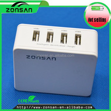 CE,ROHS,FCC Approved portable wall charger, ODM/OEM quick deliver power sockets with smart IC