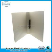 New design 2 ring a4 PVC file folder factory supply