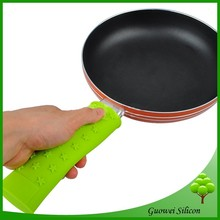 Blue silicone pot pan handle removable handle,frying pan handle