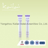 Hot stamping plastic tubes and lids for hotel/Tubes Used For Cosmetic And Hotel/Shining 30ml shampoo Tube