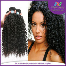 French natural black hair curly hair soft and shiny wholesale