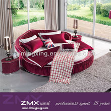 2015 best selling modern round bed for sale 1002