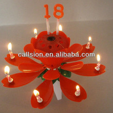 special electric singing birthday number candle