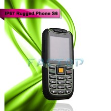 Original S6 GSM Senior old man IP68 Rugged Phone 2 Dual SIM Russian Keyboard