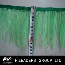 gu101 de alta calidad de plumas de avestruz trim para la venta