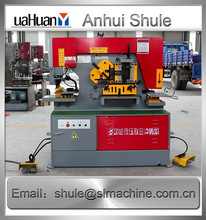 Export to canada hydraulic punching and ironworkers machine, Hydraulic ironworkers