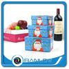 Christmas apple rectangle wine gift design printing decorative christmas gift boxes