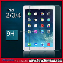 for ipad 2 2.5D 9h tempered glass screen protector