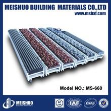Aluminium Grid Mat Panels Waterhog stable anti slip rubber mat