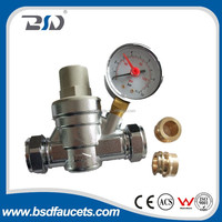 Low price brass pressure reducing valve for solar water heates