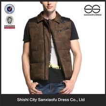New Design Cotton Casual Fashion Men Waistcoat