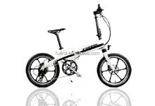 350W Bafang power motor integrated wheel electric bike